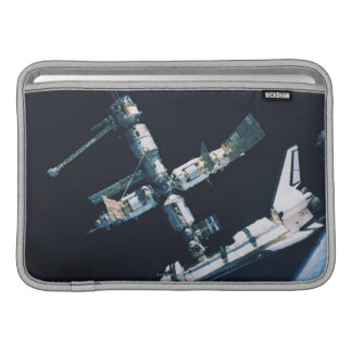 Docked Space Shuttle 2 Sleeve For MacBook Air