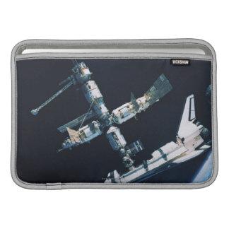 Docked Space Shuttle 2 Sleeves For MacBook Air