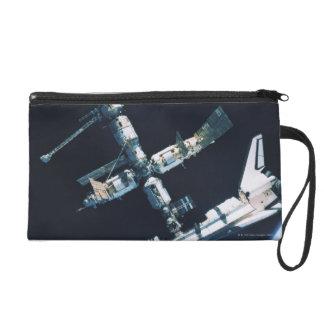 Docked Space Shuttle 2 Wristlet