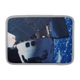 Docked Space Shuttle 3 MacBook Sleeve