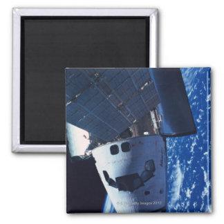 Docked Space Shuttle 3 Magnet