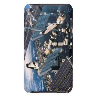 Docked Space Shuttle Barely There iPod Cover