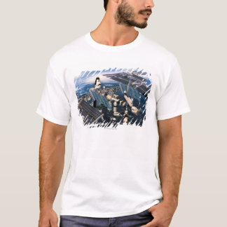 Docked Space Shuttle T-Shirt