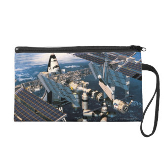 Docked Space Shuttle Wristlets