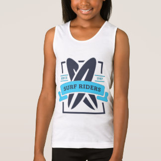 Docker BASIC Girl Surfing Tank Top