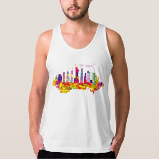 Docker Man Jersey Fine New York Tank Top