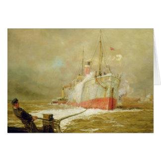 Docking a Cargo Ship Card
