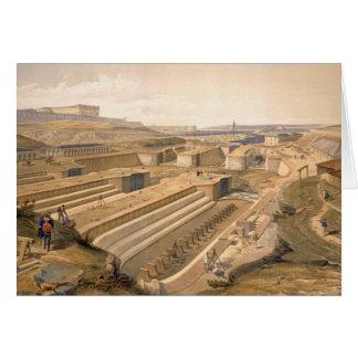 Docks at Sebastopol, plate from 'The Seat of War i Card