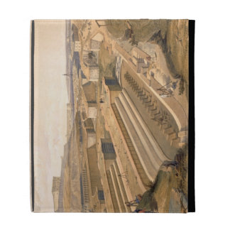 Docks at Sebastopol, plate from 'The Seat of War i iPad Folio Cases