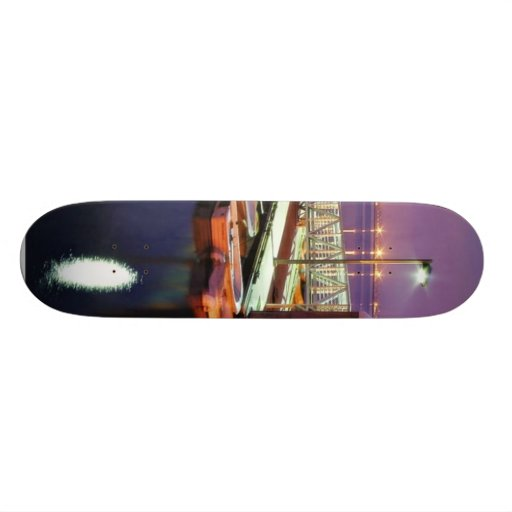 Docks In San Diego Bay Skateboard Decks