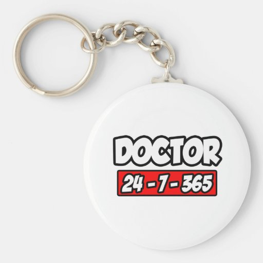 Doctor 24-7-365 key chains