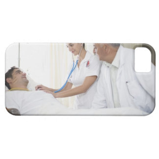Doctor and nurse tending to patient barely there iPhone 5 case