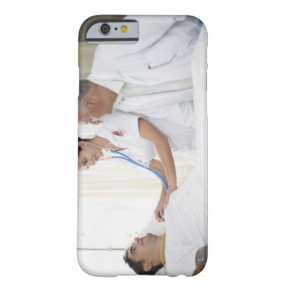 Doctor and nurse tending to patient barely there iPhone 6 case