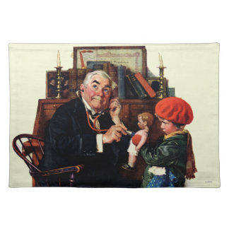 Doctor and the Doll Placemat