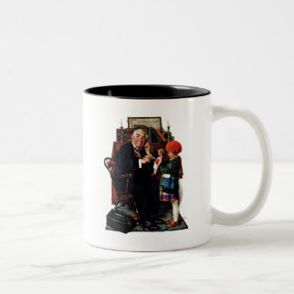 Doctor and the Doll Two-Tone Coffee Mug