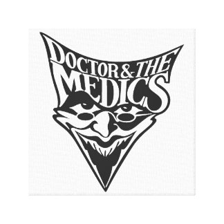Doctor and the Medics Canvas Print