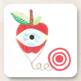 Doctor Apple Cork Coaster