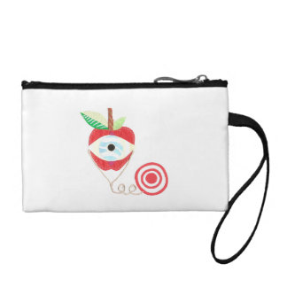 Doctor Apple Key Coin Clutch