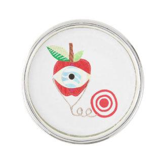 Doctor Apple Lapel Pin