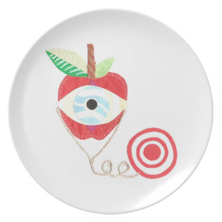 Doctor Apple Plate