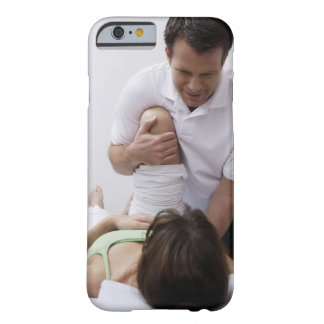 Doctor applying treatment to patient barely there iPhone 6 case