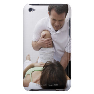 Doctor applying treatment to patient Case-Mate iPod touch case