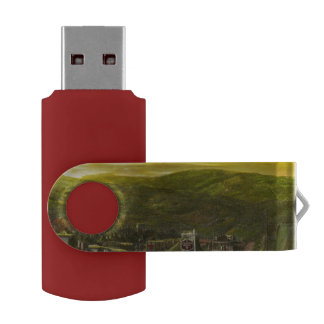 Doctor - At the end of a day Swivel USB 2.0 Flash Drive
