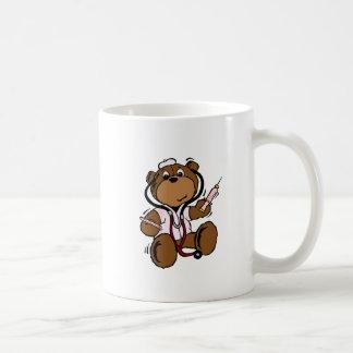 Doctor Bear Lady Basic White Mug