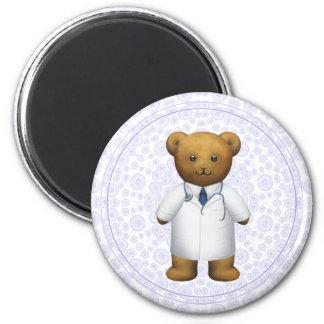 Doctor Bear - Teddy Bear 6 Cm Round Magnet