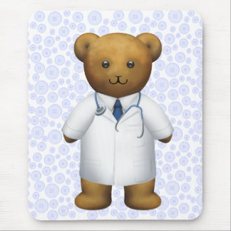 Doctor Bear - Teddy Bear Mouse Mat