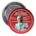 Doctor Ben Carson 7.5 Cm Round Badge