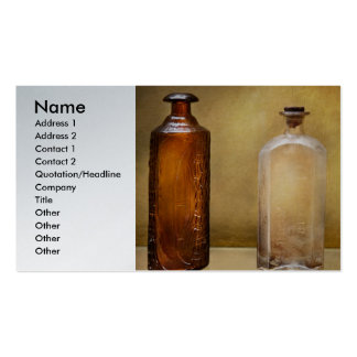 Doctor - Bitters Pack Of Standard Business Cards