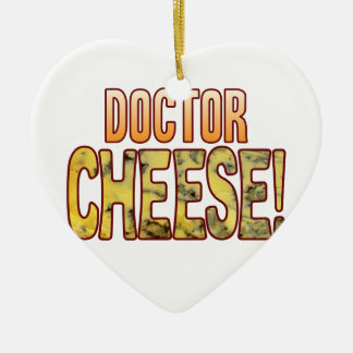 Doctor Blue Cheese Ceramic Heart Decoration