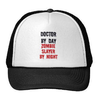 Doctor By Day Zombie Slayer By Night Cap