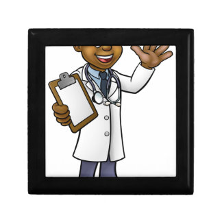 Doctor Cartoon Character Gift Box
