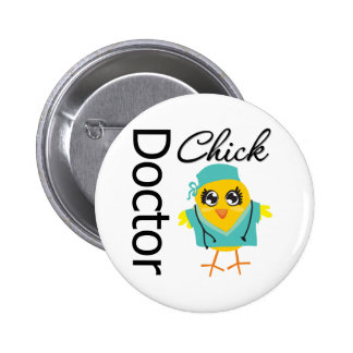 Doctor Chick 6 Cm Round Badge