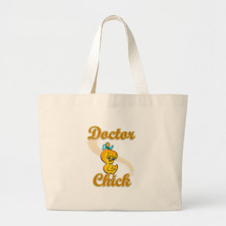 Doctor Chick Tote Bags