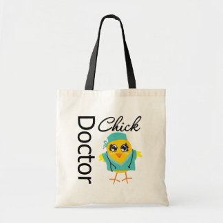 Doctor Chick Budget Tote Bag