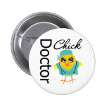 Doctor Chick Buttons