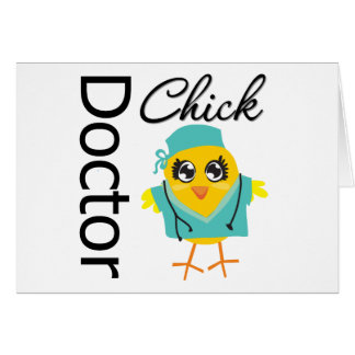 Doctor Chick Greeting Card