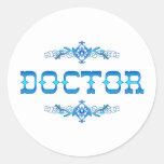 DOCTOR CLASSIC ROUND STICKER