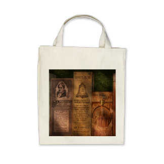 Doctor - Compound Extracts & Sarsaparilla Tote Bags