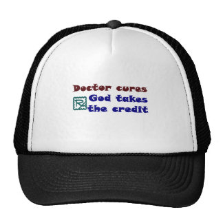 Doctor cures mesh hat