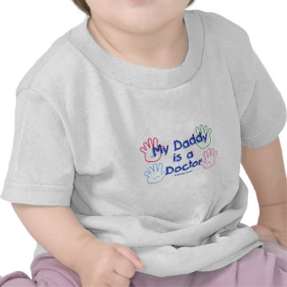 Doctor Daddy Hands Shirts
