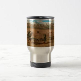 Doctor - Demonstrating a wheel litter Travel Mug