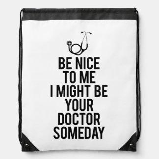 Doctor Drawstring Bag