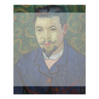 Doctor Felix Rey by Vincent Van Gogh 11.5 Cm X 14 Cm Flyer