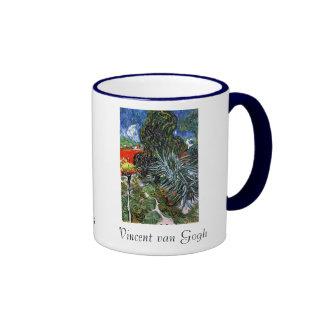 Doctor Gachet's Garden in Auvers Coffee Mugs