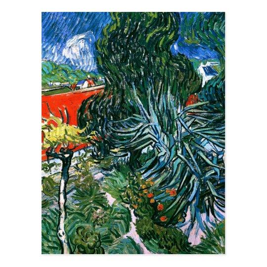 Doctor Gachet's Garden, Vincent van Gogh Postcard