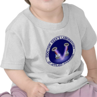 Doctor Geek's Laboratory Logo Tshirts